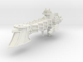 Crucero Ligero clase Intrepido V4 in White Natural Versatile Plastic