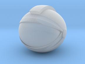 SpaceHelmetv3l1A2 in Smooth Fine Detail Plastic