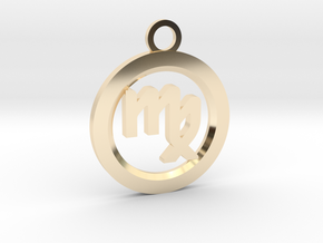 Virgo in 14k Gold Plated Brass
