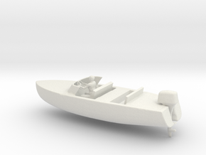 Printle Thing Speed Boat 2 - 1/24 in White Natural Versatile Plastic