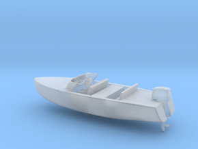 Printle Thing Speed Boat 2 - 1/48 in Smooth Fine Detail Plastic