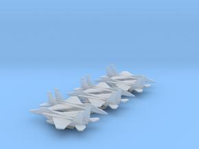 McDonnell Douglas F-15E Strike Eagle in Smooth Fine Detail Plastic: 1:700