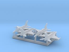 """F-16D """"Barak"""" & I """"Sufa"""" w/Gear x4 (FUD) in Smooth Fine Detail Plastic: 1:600"""