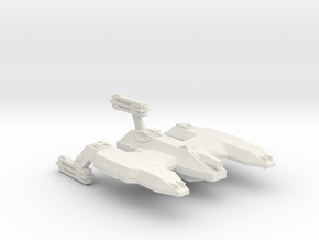 3788 Scale Lyran Dreadnought Mauler CVN in White Natural Versatile Plastic
