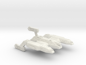 3788 Scale Lyran Refitted Dreadnought Mauler CVN in White Natural Versatile Plastic