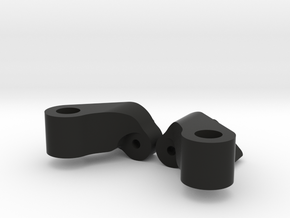 Front Chassis Brace / Turbo Mount for Axial Wraith in Black Natural Versatile Plastic