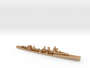 HMS Colombo 1:2400 WW2 naval cruiser in Natural Bronze