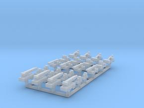 1/1250 Forklifts & Cranes (FUD) in Smooth Fine Detail Plastic