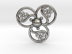 mana pendant in Antique Silver