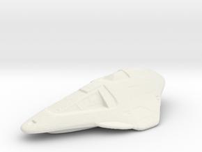 Delta Flyer in White Natural Versatile Plastic
