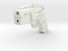 BSG Colonial Handgun in White Natural Versatile Plastic