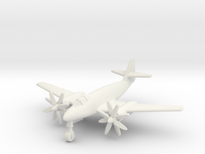(1:200) Messerschmitt Me262 Aufklärer Ia Turboprop in White Natural Versatile Plastic