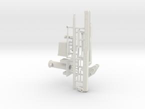 1/50th telescoping bucket lift for service trucks in White Natural Versatile Plastic
