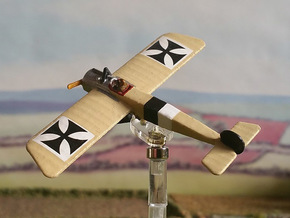 Fokker E.I in White Natural Versatile Plastic: 1:144