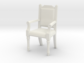Printle Thing Chair 01 - 1/24 in White Natural Versatile Plastic