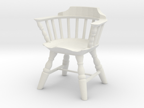 Printle Thing Chair 06 - 1/24 in White Natural Versatile Plastic