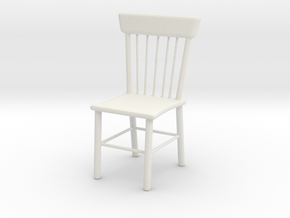 Printle Thing Chair 08 - 1/24 in White Natural Versatile Plastic
