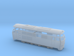 Brohltalbahn D5 in Smooth Fine Detail Plastic: 1:120 - TT