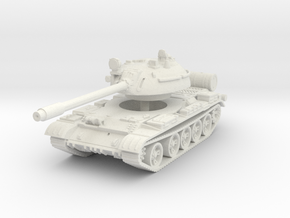 T55 Tank 1/87 in White Natural Versatile Plastic