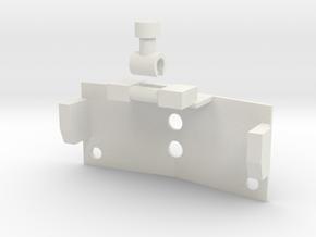 Chest fix for OS RM Optimus Prime in White Natural Versatile Plastic