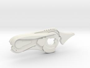 HALO Reach Concussion Rifle - 10cm in White Natural Versatile Plastic