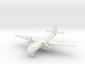 (1:144) Arado Ar 234 w/ Jumo 022 Turboprop  in White Natural Versatile Plastic