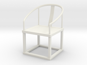 Printle Thing Chair 011 - 1/24 in White Natural Versatile Plastic