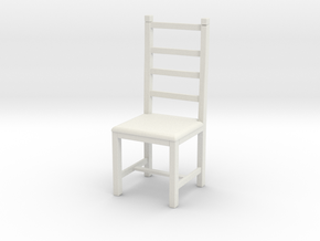 Printle Thing Chair 017 - 1/24 in White Natural Versatile Plastic