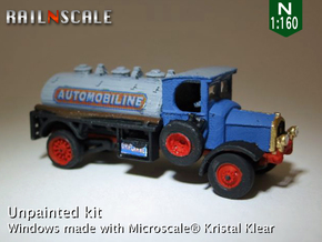 Delahaye Type 85 Camion citerne (N 1:160) in Smooth Fine Detail Plastic