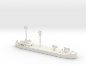 landing ship tank 1/700 fdt Fighter Direction Tend in White Natural Versatile Plastic