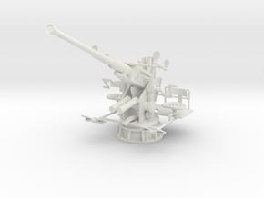 1/24 USN 40mm Single Bofors [Elevated] in White Natural Versatile Plastic