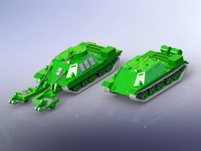 Russian BMR-1 & TOP ARV 1/160 in Smooth Fine Detail Plastic