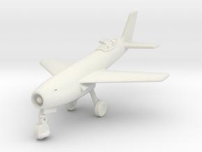 (1:144) Messerschmitt Me P.1106 (February 22 1965) in White Natural Versatile Plastic