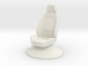 Printle Thing Chair 025 - 1/24 in White Natural Versatile Plastic