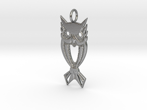 OWL 1a (2 inches) in Natural Silver
