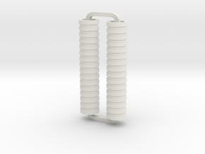 Slimline Pro disks ARTG in White Natural Versatile Plastic