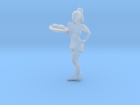Printle C Femme 051 - 1/87 - wob in Smooth Fine Detail Plastic