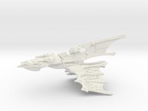 Eldar Capital Ship - Concept 3 in White Natural Versatile Plastic