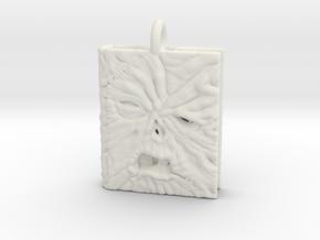 Necronomicon Exmortis Pendant necklace allmaterial in White Natural Versatile Plastic