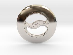 Miniature Chakram in Platinum