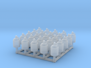 O scale moonshine jugs in Smoothest Fine Detail Plastic