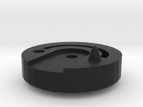 Mooney M20J Throttle Handle in Black Natural Versatile Plastic