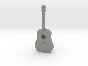 Dollhouse Acoustic Guitar in Gray PA12