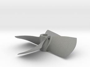 "2.25"" - PKSP RH - 3/16"" Shaft in Gray PA12"
