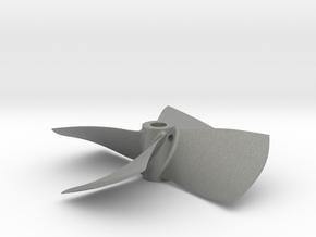 "2.50"" - PKSP RH - 3/16"" Shaft in Gray PA12"
