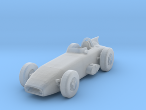 1950s Epperly finned indycar in Smooth Fine Detail Plastic