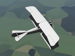 Rumpler B.I in White Natural Versatile Plastic: 1:144