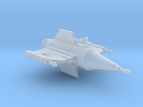Blake's 7 Federation Pursuit Ship Starburst-class in Smooth Fine Detail Plastic