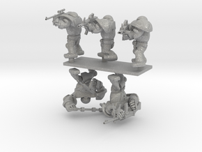 CYBORG1 COMBAT_SET 5PTS v2 in Aluminum