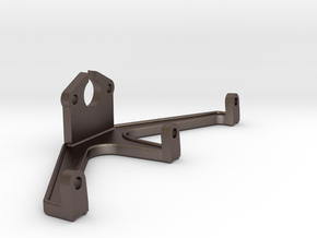 Firebox Bracket in Polished Bronzed-Silver Steel
